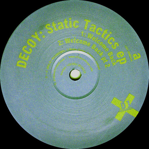 "Decoy: Static Tactics EP (Vinyl 12"") 