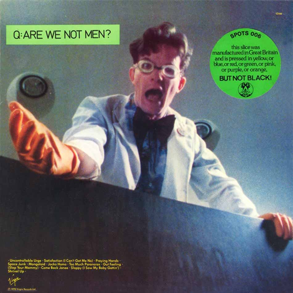 Devo: Q: Are We Not Men? A: We Are Devo! (Vinyl LP) | Optic Music | Buy Vinyl Online