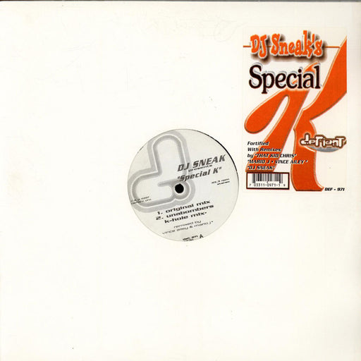"Dj Sneak: Special K (Vinyl 12"") 