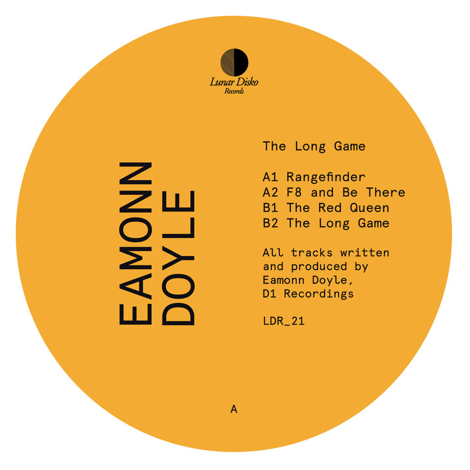 "Eamonn Doyle: The Long Game (Vinyl 12"") 