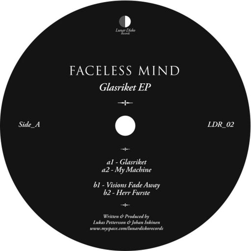 "Faceless Mind: Glasriket EP (Vinyl 12"") 