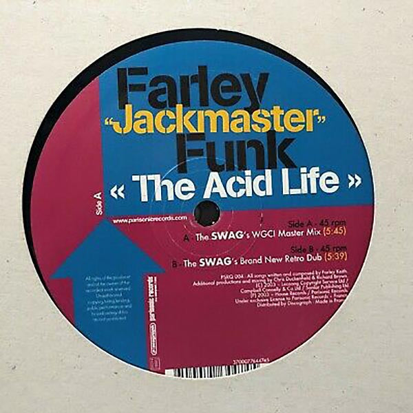 "Farley 'Jackmaster' Funk: The Acid Life (Vinyl 12"") 