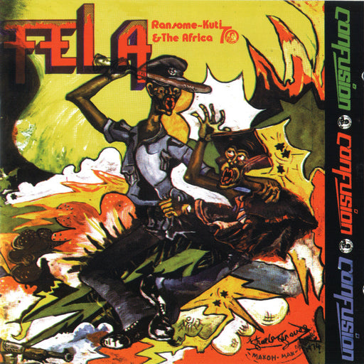 Fela Ransome-Kuti & The Africa 70 : Confusion (Vinyl LP) | Optic Music | Buy Vinyl Online