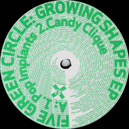 "Five Green Circle: Growing Shapes EP (Vinyl 12"") 
