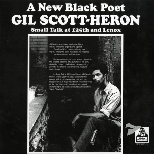 Gil Scott-Heron: Small Talk At 125th And Lenox (Vinyl LP) | Optic Music | Buy Vinyl Online