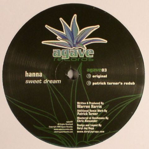 "Hanna: Sweet Dream (Vinyl 12"") 