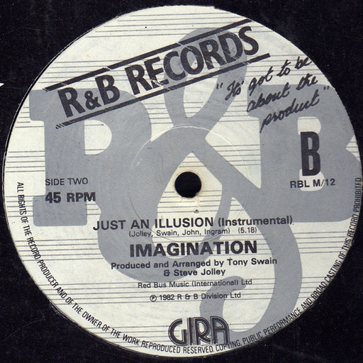 Vinyl Records | Vinyl Cleaning Dublin | Global Shipping | Imagination |  Just an Illusion