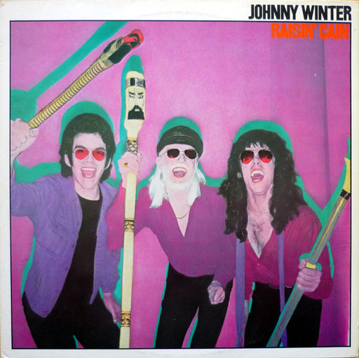 Johnny Winter: Raisin' Cain (Vinyl LP) | Optic Music | Vinyl Records
