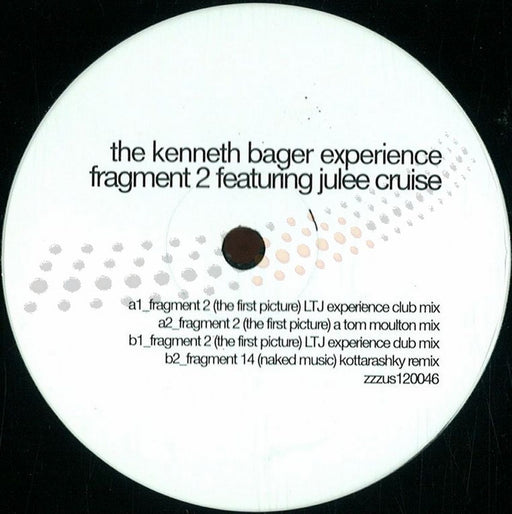 "The Kenneth Bager Experience: Fragment 2 (Vinyl 12"") 