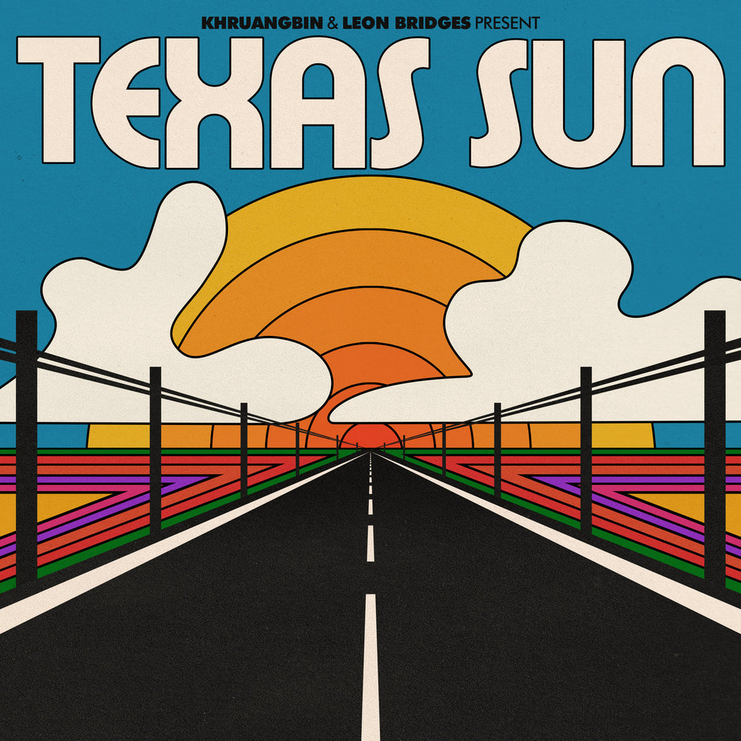 Khruangbin & Leon Bridges: Texas Sun (Vinyl LP) | Optic Music | Buy Vinyl Online