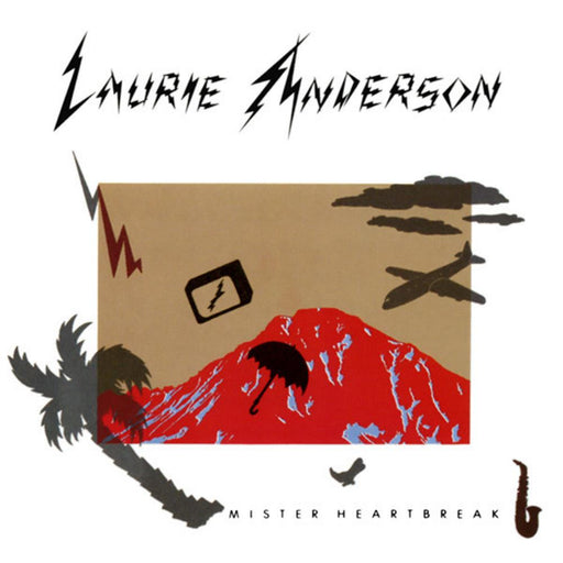 Laurie Anderson | Mister Heartbreak | Optic Music | Vinyl Records | Dublin Vinyl