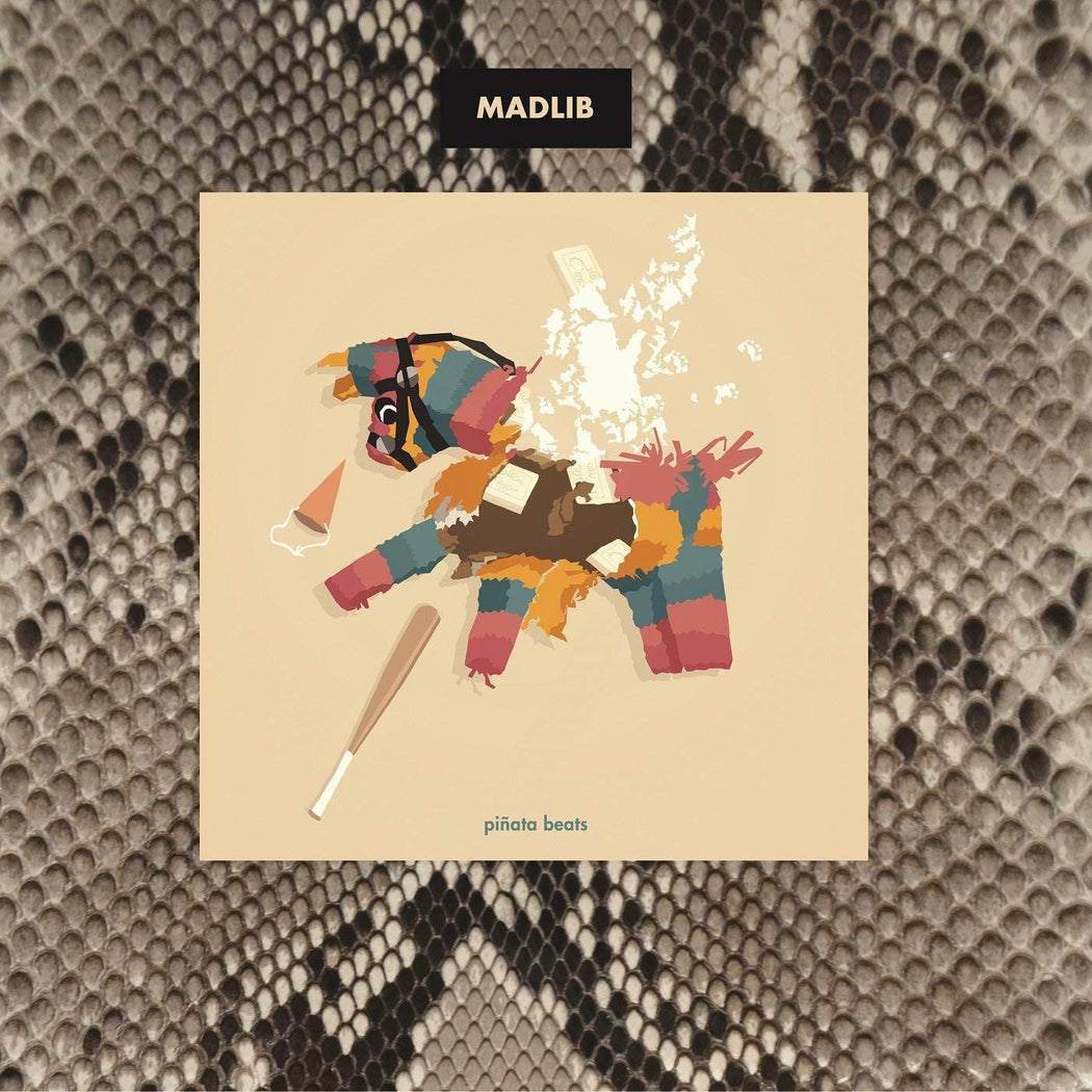 Madlib: Piñata Beats (Vinyl LP) | Optic Music | Buy Vinyl Online