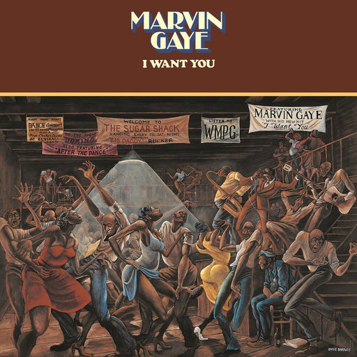 Marvin Gaye: I Want You (Vinyl LP) | Optic Music | Buy Vinyl Online
