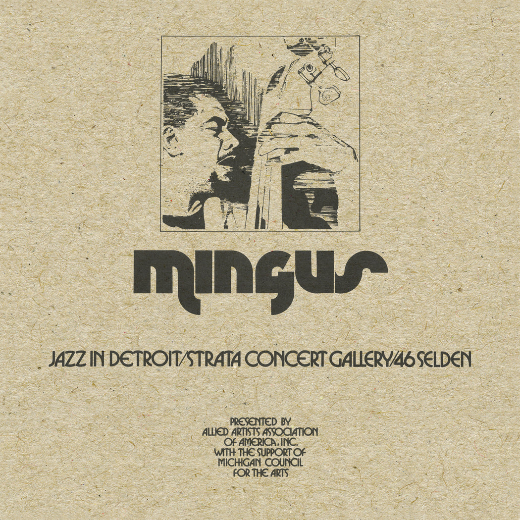 Charles Mingus: Jazz In Detroit / Strata Concert Gallery / 46 Selden (Vinyl LP) | Optic Music | Buy Vinyl Online