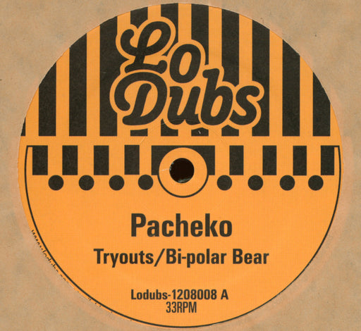 "Pacheko: Tryouts / Bi Polar Bear (Vinyl 12"") 