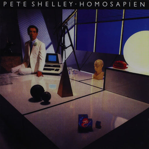 Pete Shelley: Homosapien (Vinyl LP) | Optic Music | Buy Vinyl Online