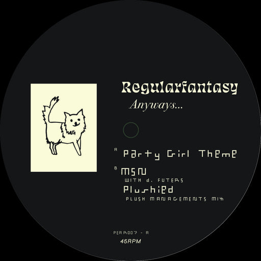 "Regularfantasy: Anyways... (Vinyl 12"") 