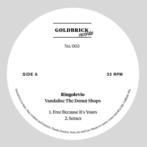 "Ringolevio: Vandalise The Donut Shops (Vinyl 12"") 