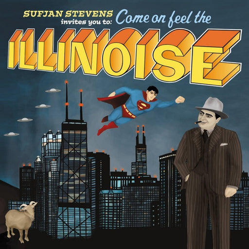 Sufjan Stevens: Illinois (Vinyl LP) | Optic Music | Buy Vinyl Online