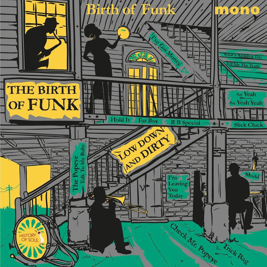 Various Artists: The Birth Of Funk (Vinyl LP) | Optic Music | Buy Vinyl Online