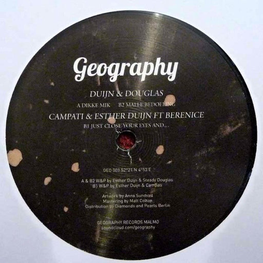 "Various Artists: Geography 003 (Vinyl 12"") 