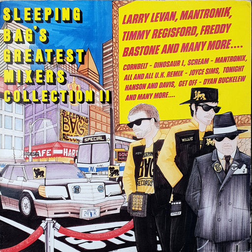 Various Artists: Sleeping Bag's Greatest Mixers Collection II (Vinyl LP) | Optic Music | Buy Vinyl Online