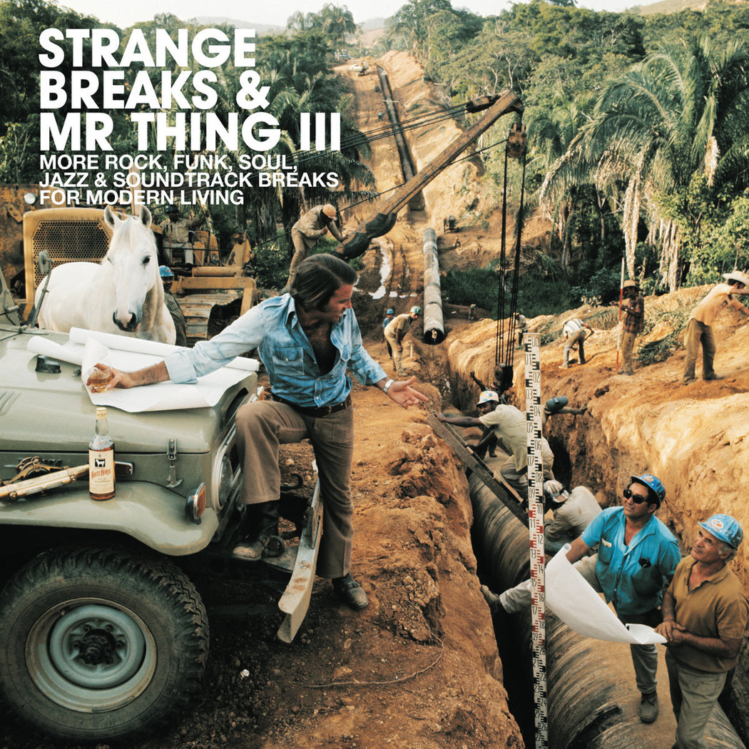 Various Artists: Strange Breaks & Mr. Thing III (Vinyl LP)