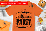 Halloween Party Trick or Treat SVG