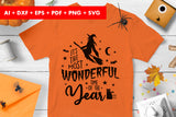 It's The Most Wonderful Time of The Year Halloween SVG