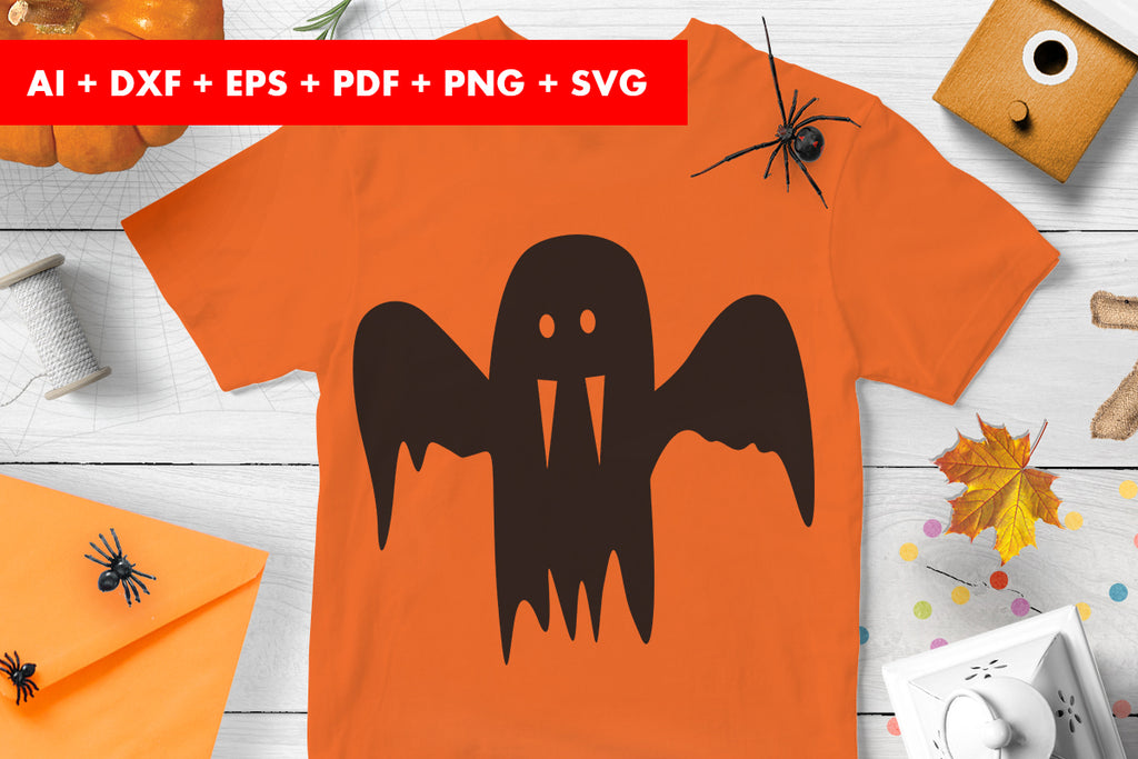 Ghost Clipart Halloween Vector SVG PNG transparent