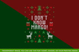 I Don't Know Margo! Transparent SVG