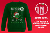 The Season To Be Jolly It Is Transparent SVG