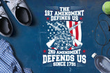 The 1st amendment define us, 2nd amendment SVG