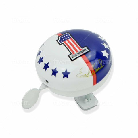 Evel Knievel Bicycle Bell