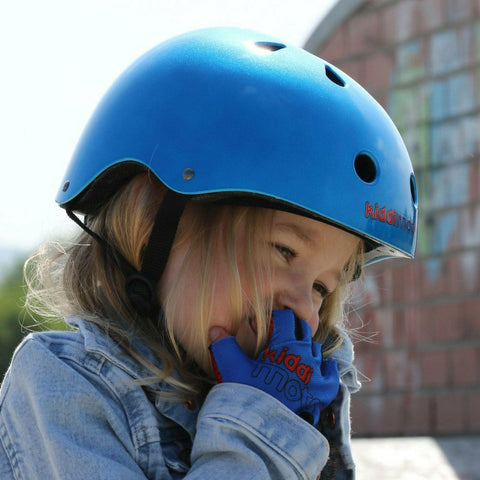 Image of Blue Cycling Gloves