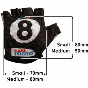 8 Ball Cycling Gloves