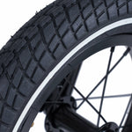 Kiddimoto Black Mountain Bike | Multi Terrain Tyres