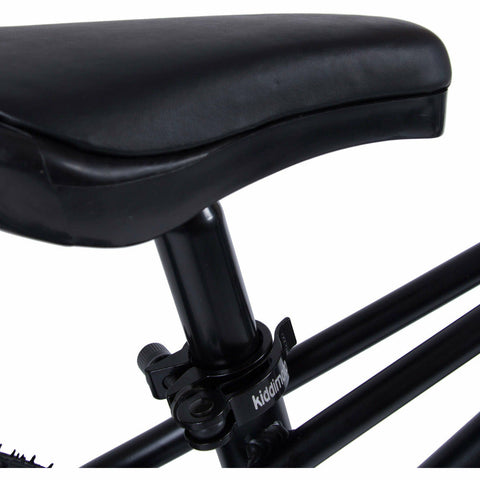 Image of Kiddimoto Black Mountain Bike | Saddle
