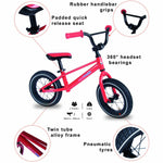 Red BMX Alloy Balance Bike