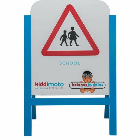 Kiddimoto Balance Buddies Wooden Sign Set