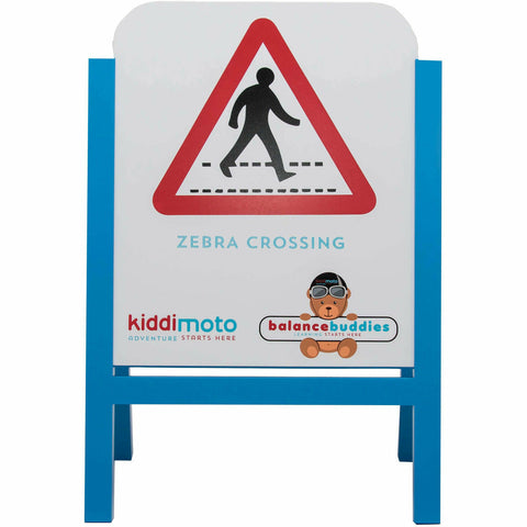 Image of Educational Wooden Road Signs From Kiddimoto