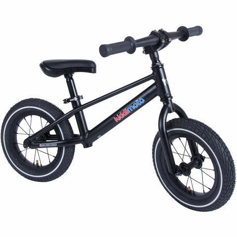 Image of Kiddimoto Black Mountain Bike | Side