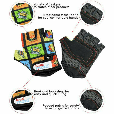 Image of Comic Cycling Gloves