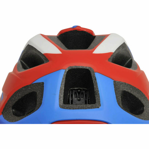 Image of IKON By Kiddimoto Full Face Helmet Red