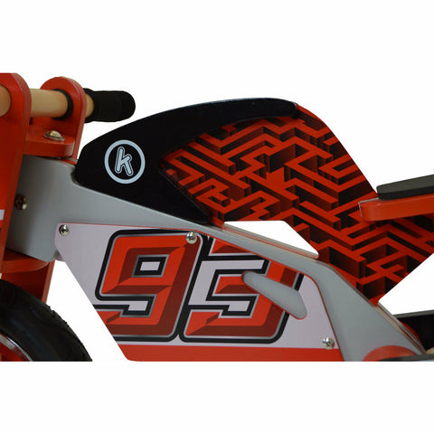 Image of Kiddimoto Officially Licensed Marc Marquez Bike
