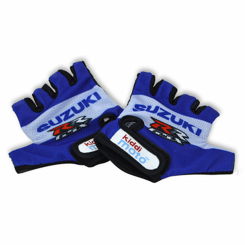 Image of Official Suzuki kids cycle gloves