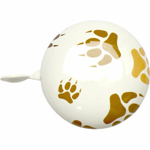 Kiddimoto Paws Printed Bicycle Bell top