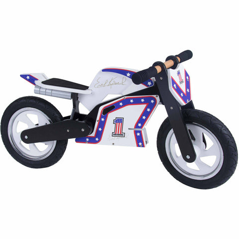Image of Kiddimoto Evel Knievel Official Balance Bike