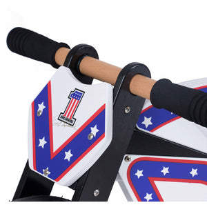 Kiddimoto Officially Licensed Evel Knievel Balance Bike