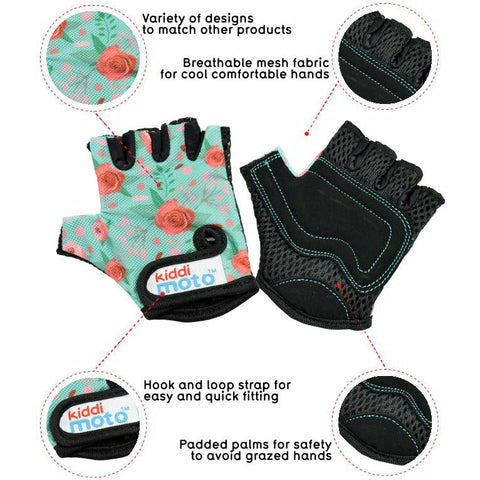 Floral Cycling Gloves